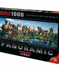 Puzzle panoramic Anatolian Story Train, 1000 piese
