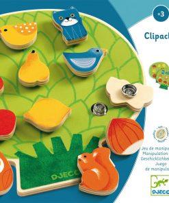 """Joc motric din lemn pentru copii Djeco """"ClipaBoa"""""""