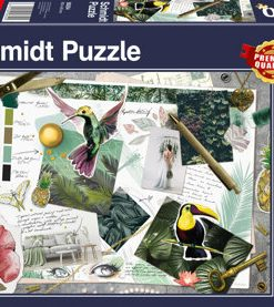 Puzzle Moodboard, 1000 piese
