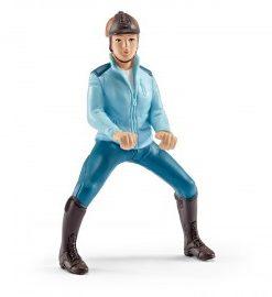 Set figurine schleich calareata cu jacheta turquaz 42163