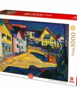 Puzzle Wassily Kandinsky - Murnau Burggrabenstrasse, 1000 piese
