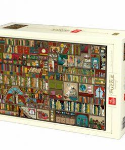 Puzzle Pattern Bookshelf, 1000 piese