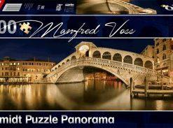 Puzzle Rialto Bridge, 1000 piese