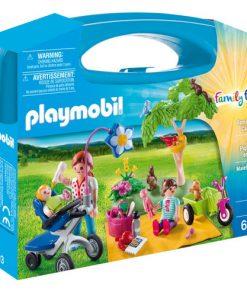 Set de Constructie Portabil Picnic In Familie - Family Fun
