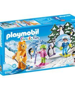 Set de Constructie Lectii de Ski - Family Fun