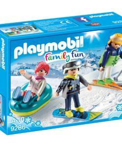 Set de Constructie Iarna pe Partie - Family Fun