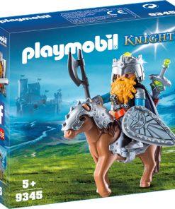 Set de Constructie Luptator Pitic cu Ponei - Knights