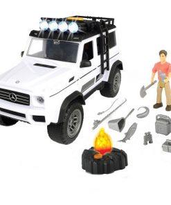 Masina Playlife Adventure Set cu Figurina si Accesorii