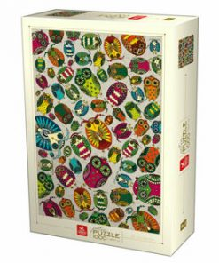 Puzzle Pattern Owls, 1000 piese