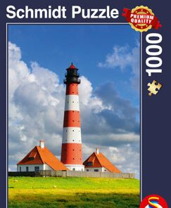 Puzzle Westerhever Lighthouse, 1000 piese