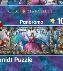Puzzle Palat de gheata, 1000 piese