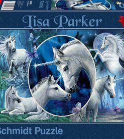 Puzzle Unicorni fermecatori, 1000 piese