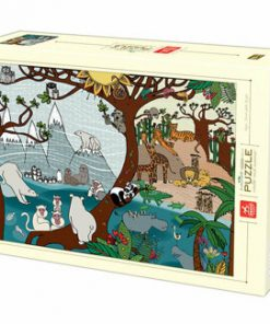 Puzzle Nature Summer and Winter, 1000 piese