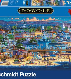 Puzzle Newport, 1000 piese