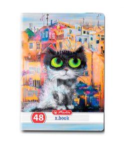 Caiet dictando Herlitz, A5, 48 file, Crazy Cats