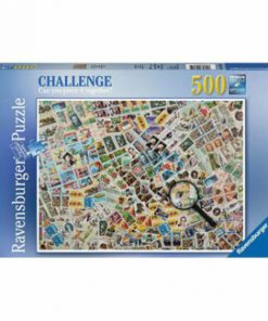 Puzzle Ravensburger Timbre, 500 piese