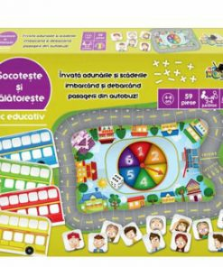 Joc educativ - Socoteste si calatoreste