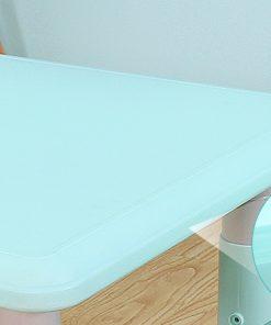 Masuta pentru copii cu inaltime reglabila Nichiduta Big Table Blue