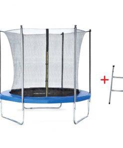 Trambulina pentru copii cu plasa interioara Byox 8FT 244 cm