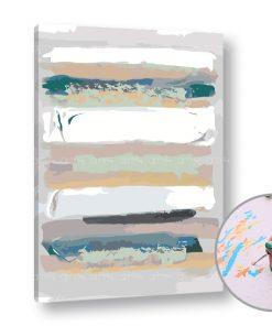 Pictura după numere LINII ABSTRACTE - Level Starter (set pentru pictura)
