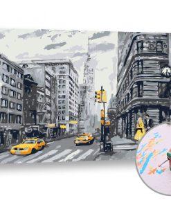 Pictura după numere VIA»öA DE ORAȘ - Level Medium (set pentru pictura)