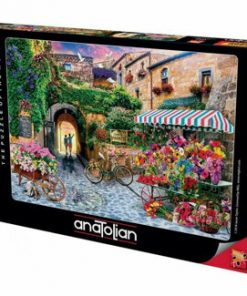 Puzzle Anatolian The Flower Market, 1000 piese