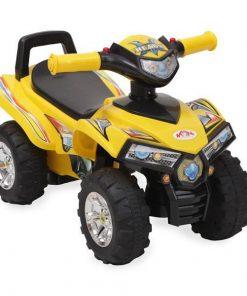 ATV fara pedale Moni Ride & Go Galben