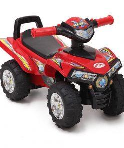 ATV fara pedale Moni Ride & Go Rosu