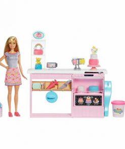 Set Barbie - Cofetarie cu papusa