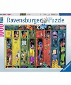 Puzzle Ravensburger Vestiar Sportiv, 1000 piese