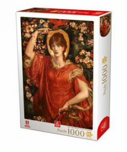 Puzzle Dante Gabriel Rossetti - A Vision of Fiammetta, 1000 piese