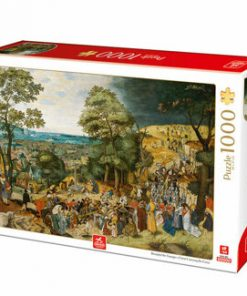 Puzzle Pieter Brueghel the Younger - Christ Carrying the Cross, 1000 piese