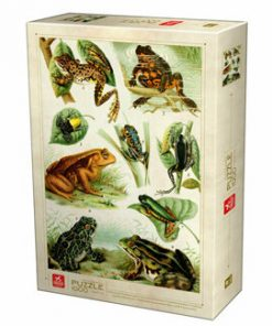 Puzzle Encyclopedia - Frogs, 1000 piese