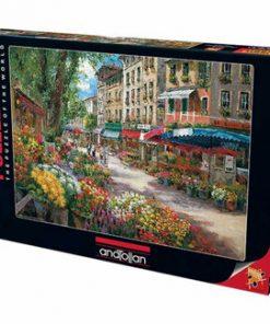 Puzzle Anatolian Paris Flower Market, 1000 piese