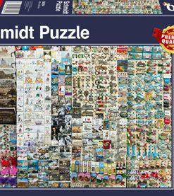 Puzzle Stand de suveniruri, 1000 piese