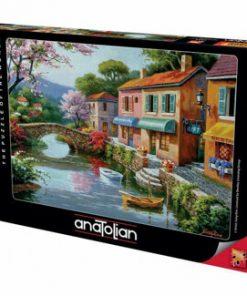 Puzzle Anatolian Quaint Village Shops, 1000 piese