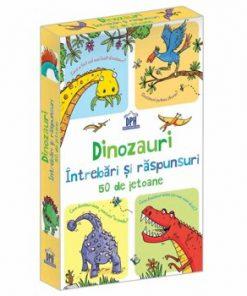 Dinozauri - intrebari si raspunsuri - 50 de jetoane/Usborne
