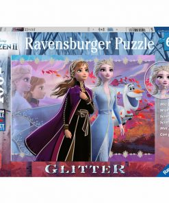Puzzle Ravensburger Anna si Elsa Frozen II, 100 piese