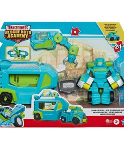 Set Transformers Figurina cu vehicul Rescue Bots Academy, Hoist Rescue Trailer, E7181
