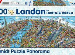 Puzzle Londra, 1000 piese