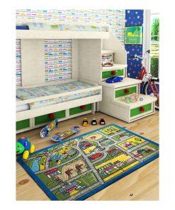 Covor pentru copii Traffic, 100 x 150 cm