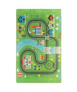 Covor copii Train, 100 x 160 cm