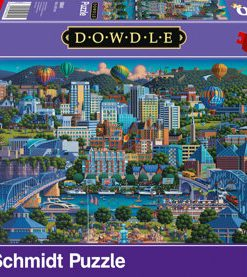 Puzzle Chattanooga, 1000 piese