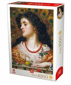 Puzzle Frederick Sandys - Vivien, 1000 piese