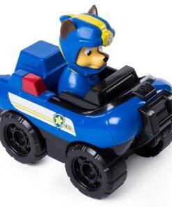 Figurina cu vehicul de interventie Paw Patrol - Chase politist