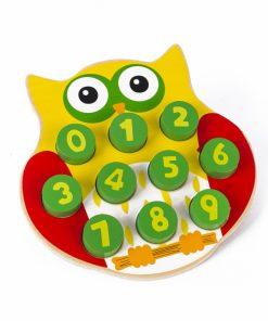 Bufnita - joc asociere cifre