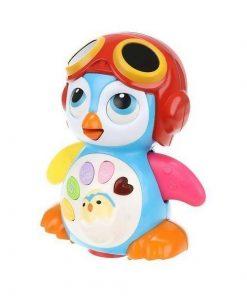 Jucarie interactiva in forma de pinguin pentru copii, lumini si sunete - Gonga
