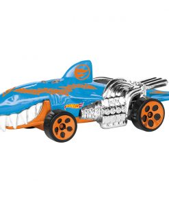 Masinuta cu lumini si sunete Hot Wheels, Sharkruiser, Albastru
