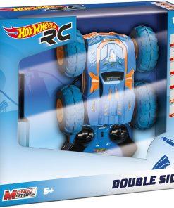 Masinuta cu telecomanda Hot Wheels, Double Side, 1:18