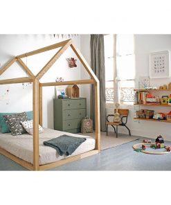 Pat casuta Home Concept Montessori Woody